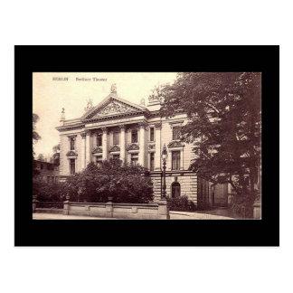 Cartão velho, teatro berlinês, Berlim