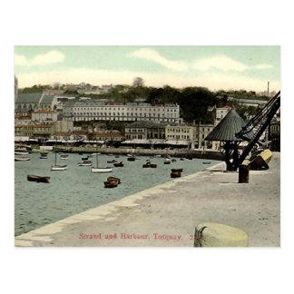 Cartão velho - Torquay, Devon