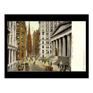 Cartão velho, Wall Street, Nova Iorque