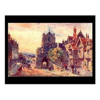 Cartão velho, Warwick, porta ocidental