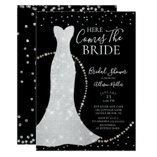 Cartão Vem aqui o chá de panela da noiva