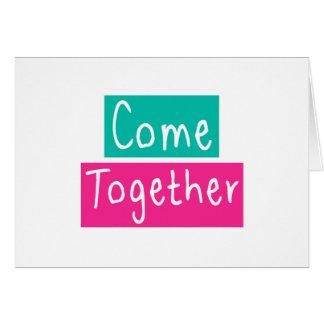 Cartão Venha junto