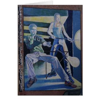 Cartão Ventiladores de vidro de Pittsburgh