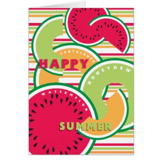 Cartão Verão feliz!