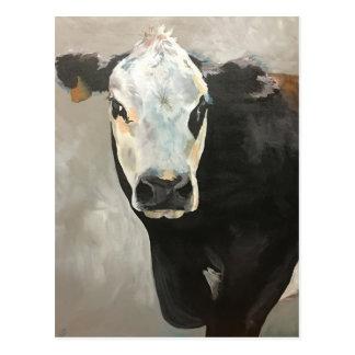 Cartão verdadeiro da vaca do grão