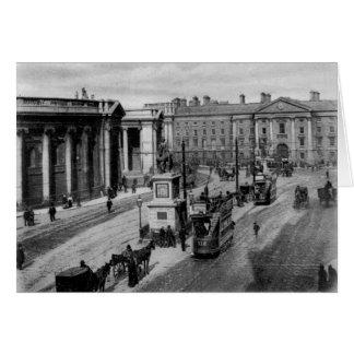 Cartão Verde da faculdade, Dublin, c.1900