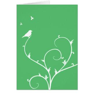 Cartão verde da paz