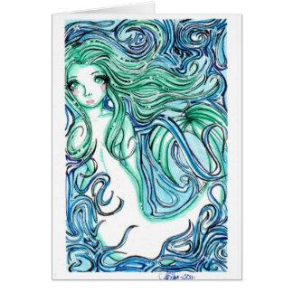 Cartão Verde de mar