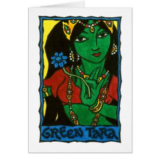 Cartão verde de Tara