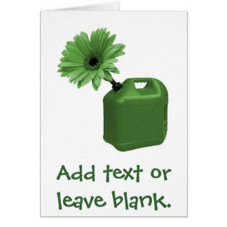 Cartão verde indo