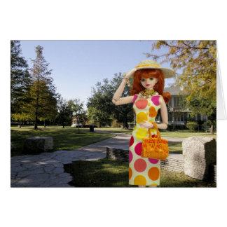 Cartão Verdi, setembro no parque de Sam Houston
