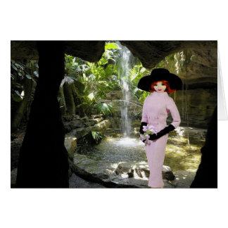 Cartão Verdi - vestuário cor-de-rosa, museu da borboleta