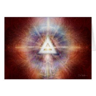 Cartão Vermelho da matriz do triângulo