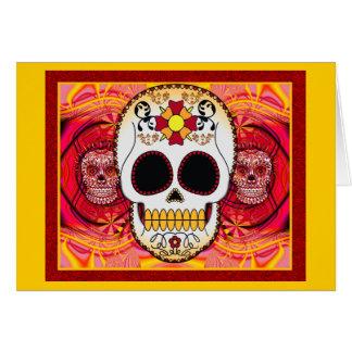 Cartão vermelho de Calaveras