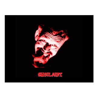 Cartão (vermelho) de Ghoulardi