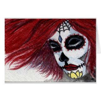 Cartão Vermelho de Muertos