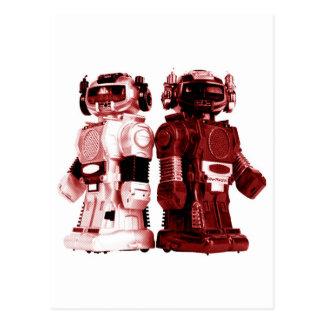 cartão vermelho dos robôs