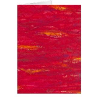 Cartão vermelho poderoso - knallrot