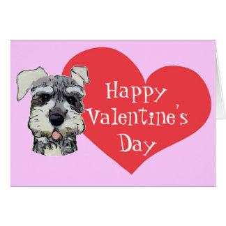 Cartão veterinário dos namorados