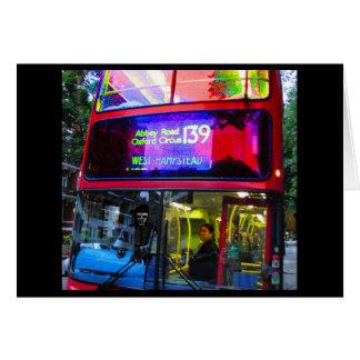 Cartão Viagem do ônibus da estrada da abadia
