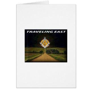 Cartão Viagem para o leste