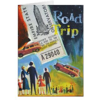 Cartão viagem por estrada