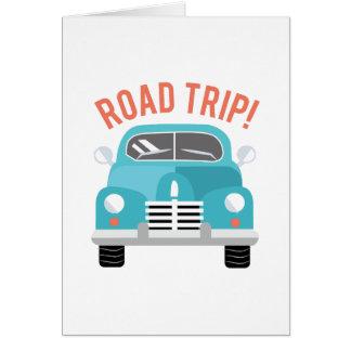 Cartão Viagem por estrada!