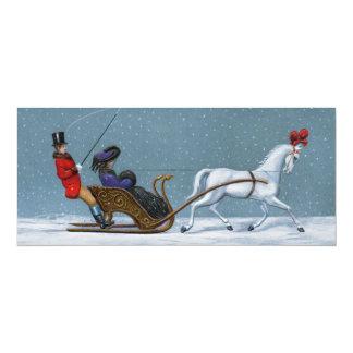 Cartão Viajantes do inverno