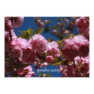 Cartão Vibração do partido de jardim
