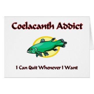 Cartão Viciado de Coelacanth