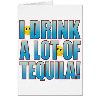 Cartão Vida B do Tequila da bebida