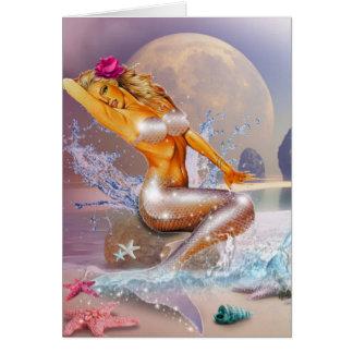 Cartão Vida como uma sereia