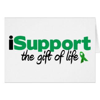 Cartão vida do iSupport