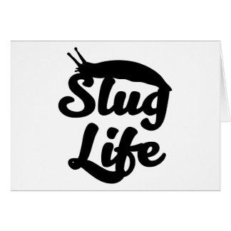 Cartão Vida do Slug