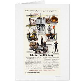 Cartão Vida no marinho de E.U.