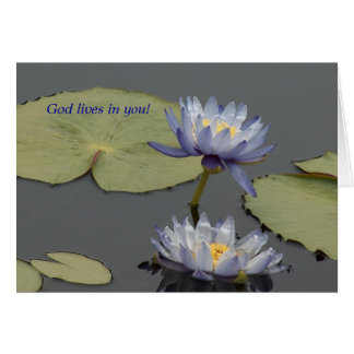 Cartão Vidas do deus em você!