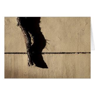 Cartão Videira e sombra da hera