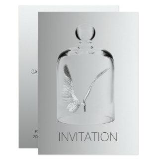 Cartão Vidro das cinzas do partido do clube do