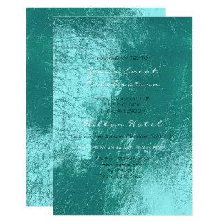 Cartão Vidro mediterrâneo metálico perolado do Aqua de