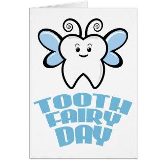 Cartão Vigésimo oitavo fevereiro - dia da fada de dente