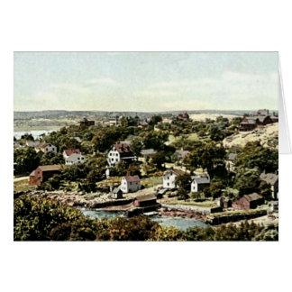 Cartão Vila de Annisquam, Gloucester, Massachusetts