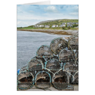 Cartão Vila de pesca