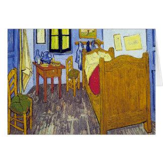 Cartão Vincent van Gogh 1888 o quarto em Arles