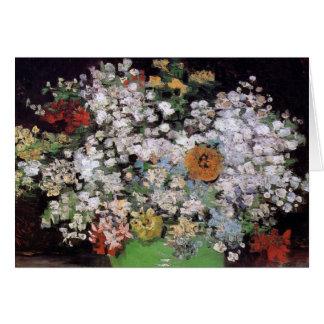 Cartão Vincent van Gogh - bacia com belas artes dos