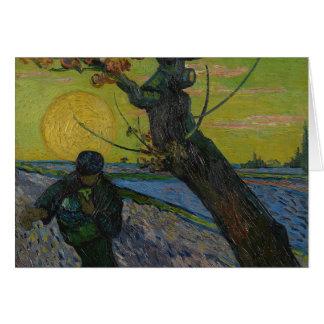 """Cartão Vincent van Gogh - """"cartão de cumprimentos do"""