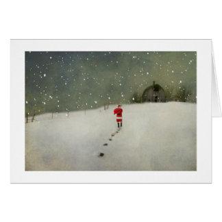Cartão Vinda de Santa