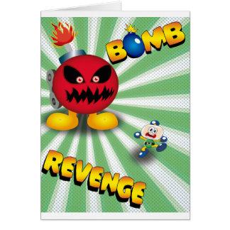 Cartão Vingança da bomba