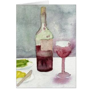 Cartão Vino Rosso