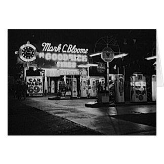 Cartão Vintage 1942 de Hollywood Califórnia da estação de