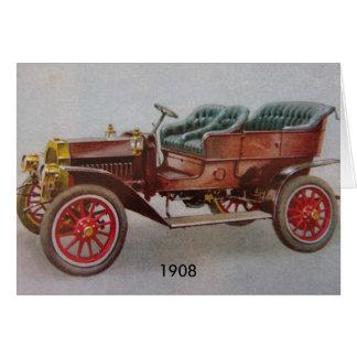 Cartão Vintage Buick